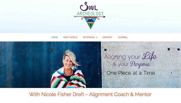 Soul Archeology Website Screenshot